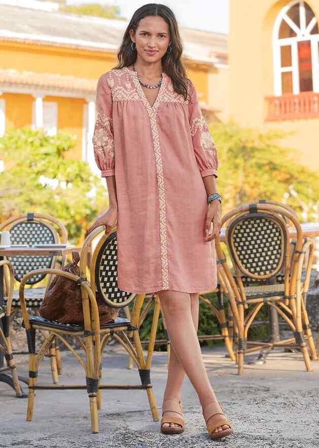 AMINA BEAUTY DRESS - PETITES
