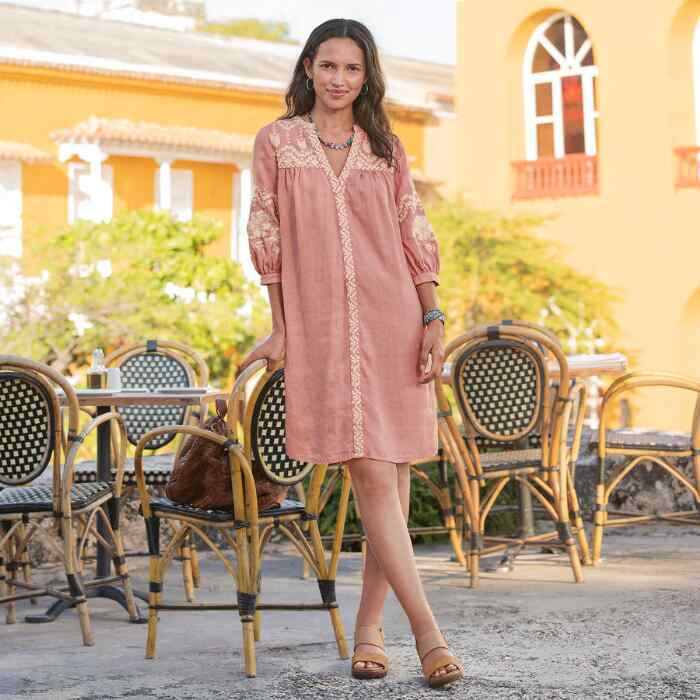 AMINA BEAUTY DRESS PETITE