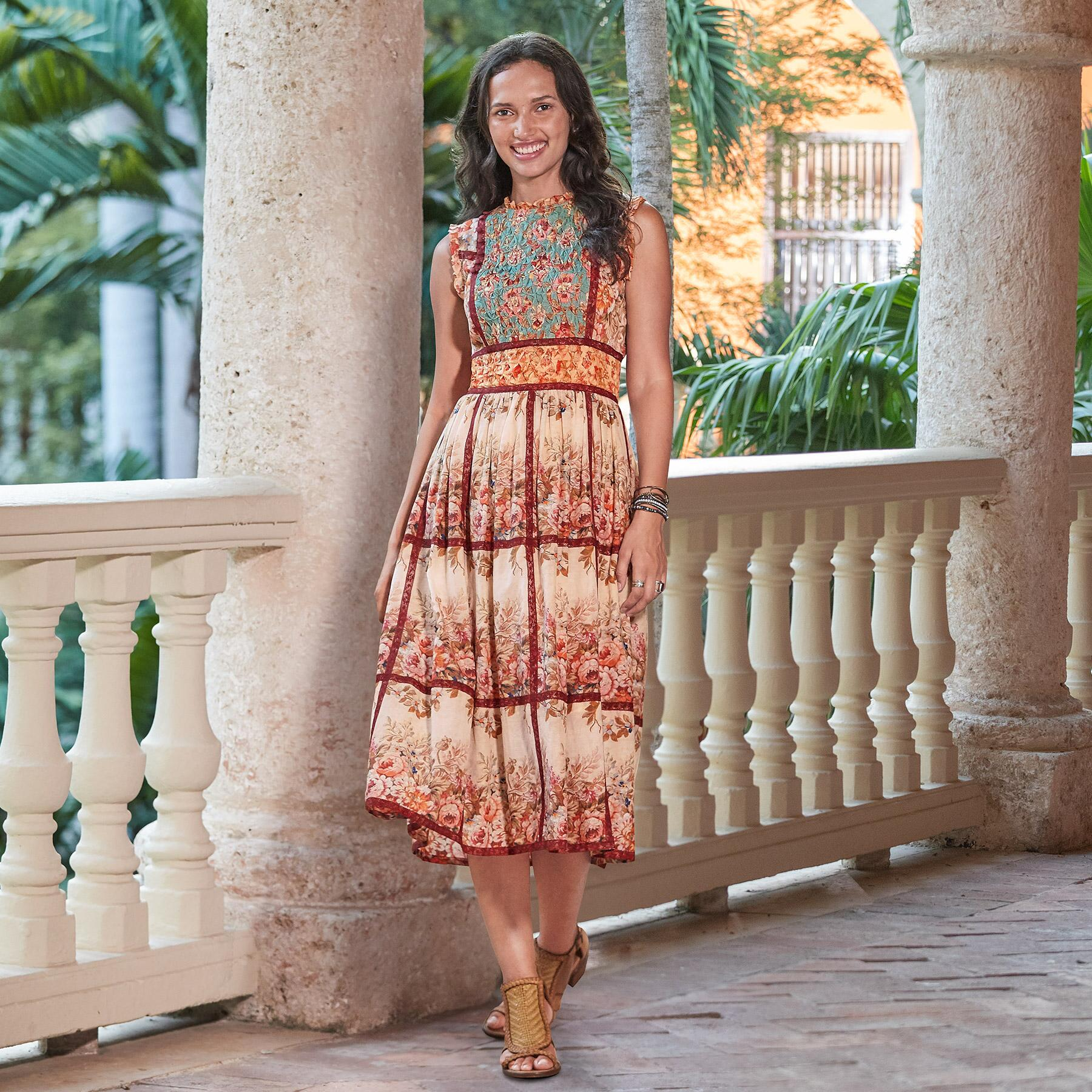 OUTBACK BLOOM DRESS PETITE: View 1