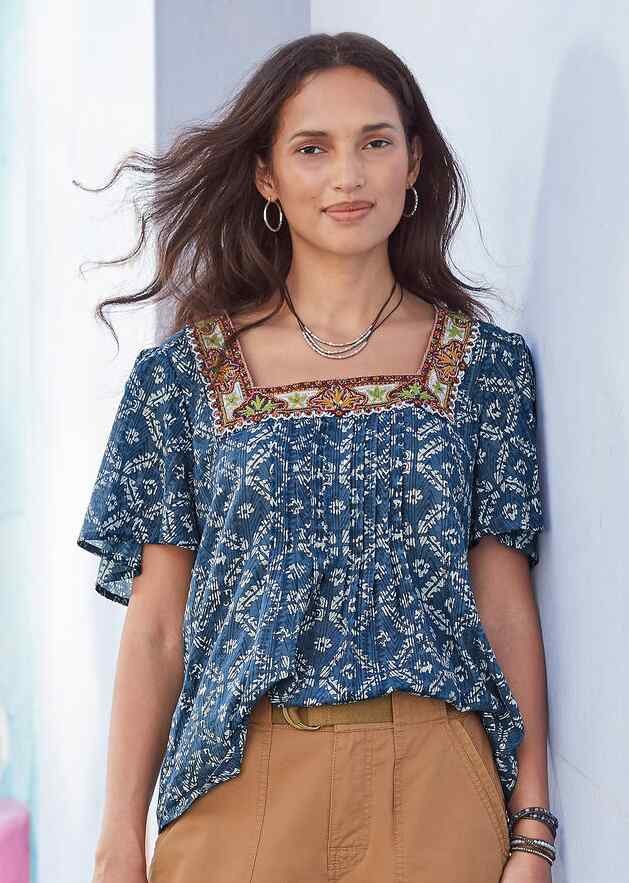 OUTBACK TOP - PETITES
