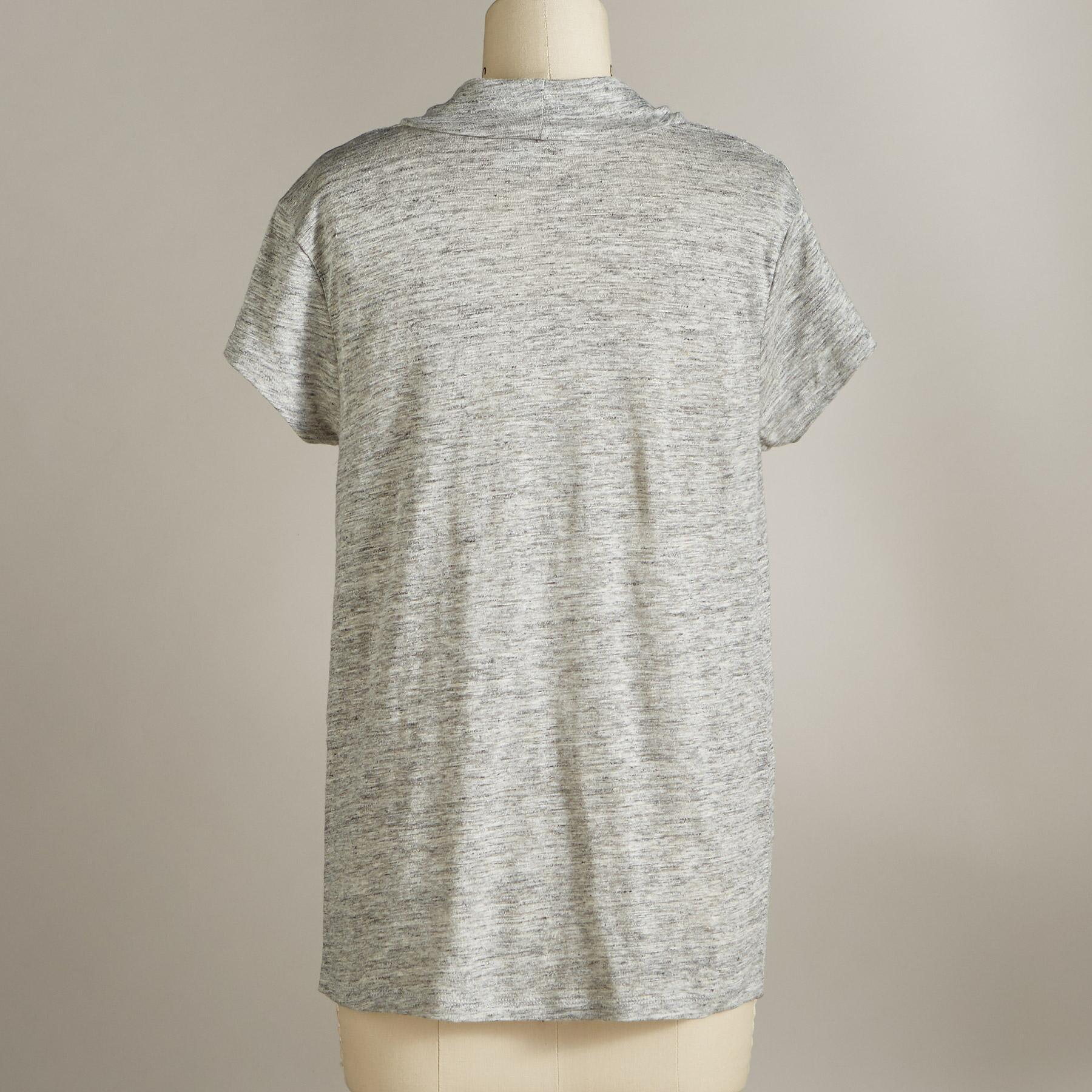 SOFT SOPHISTICATE TEE - PETITES: View 2