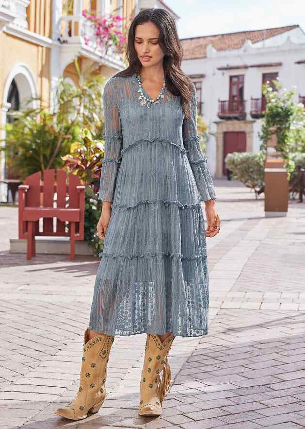 ELLERY LACE DRESS - PETITES