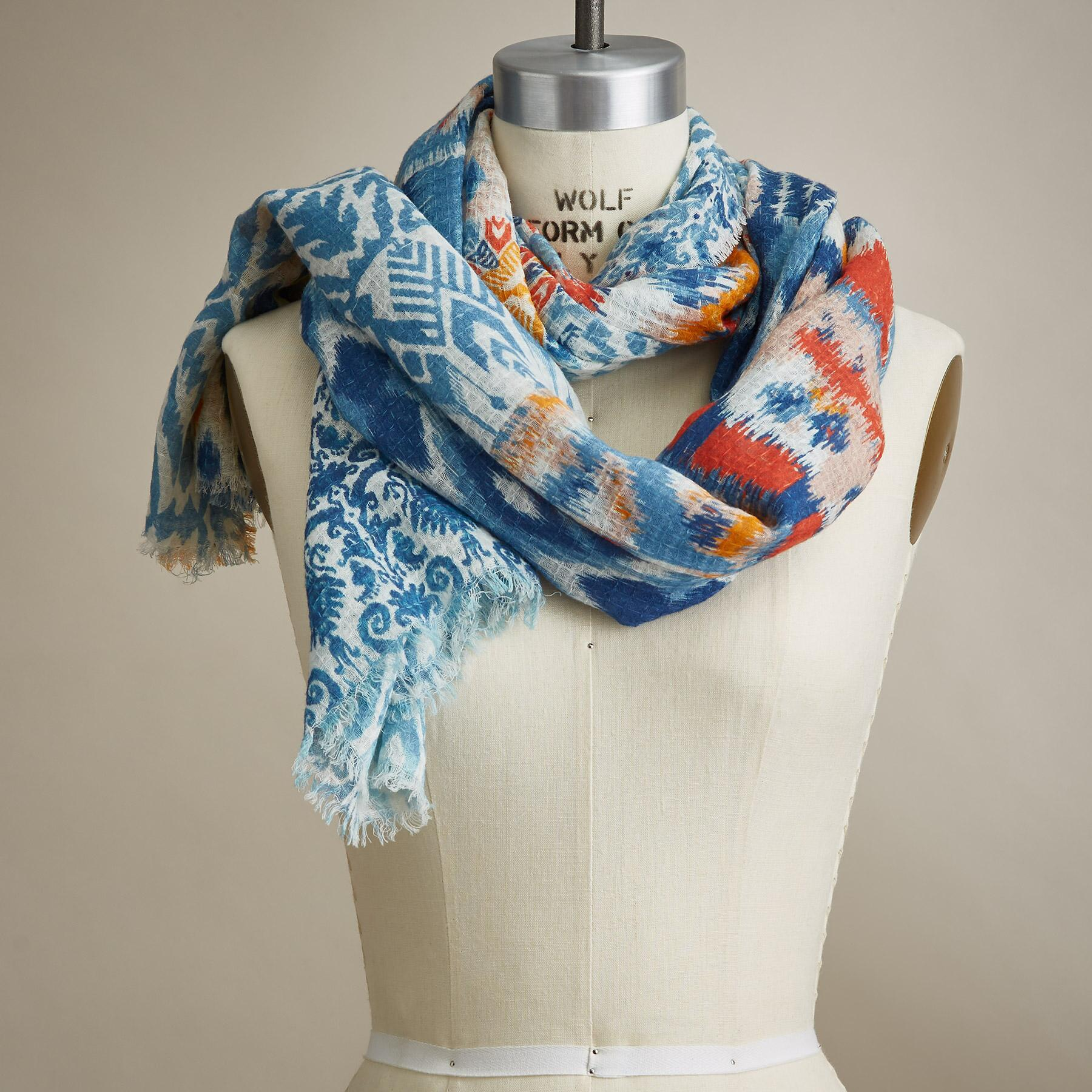 SUNRISE SONG SCARF: View 1