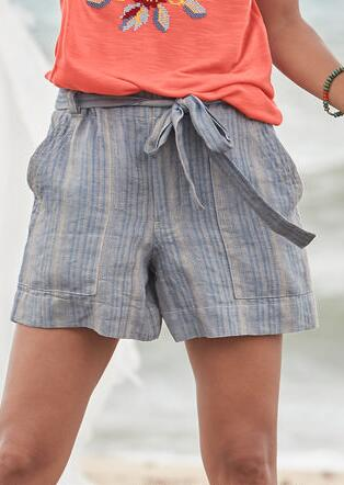 ISABELLA STRIPE SHORTS