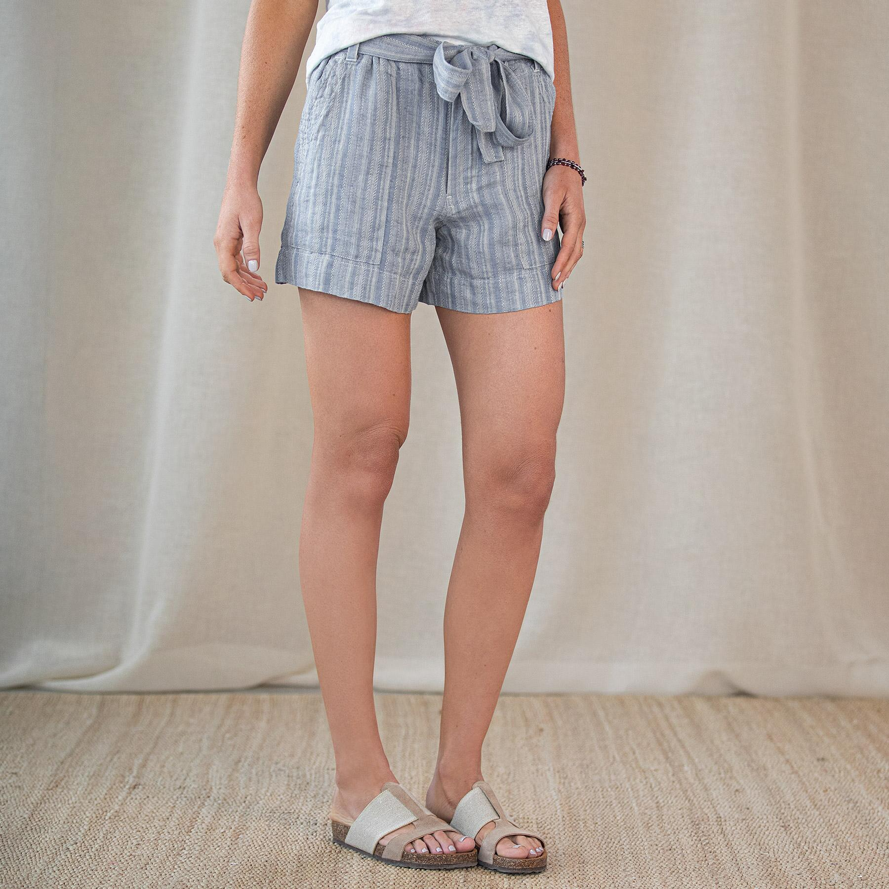 ISABELLA STRIPE SHORTS: View 2