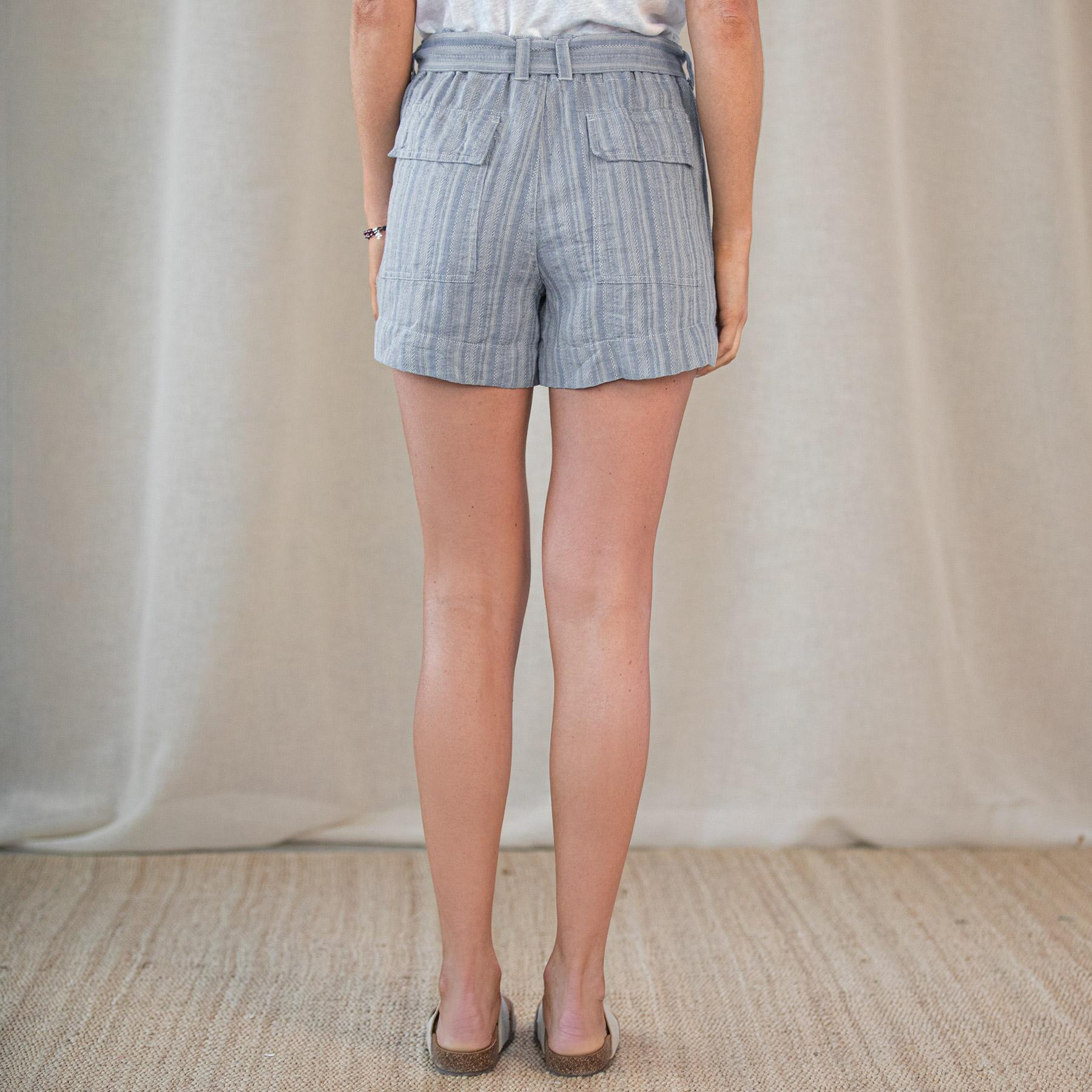 ISABELLA STRIPE SHORTS: View 3