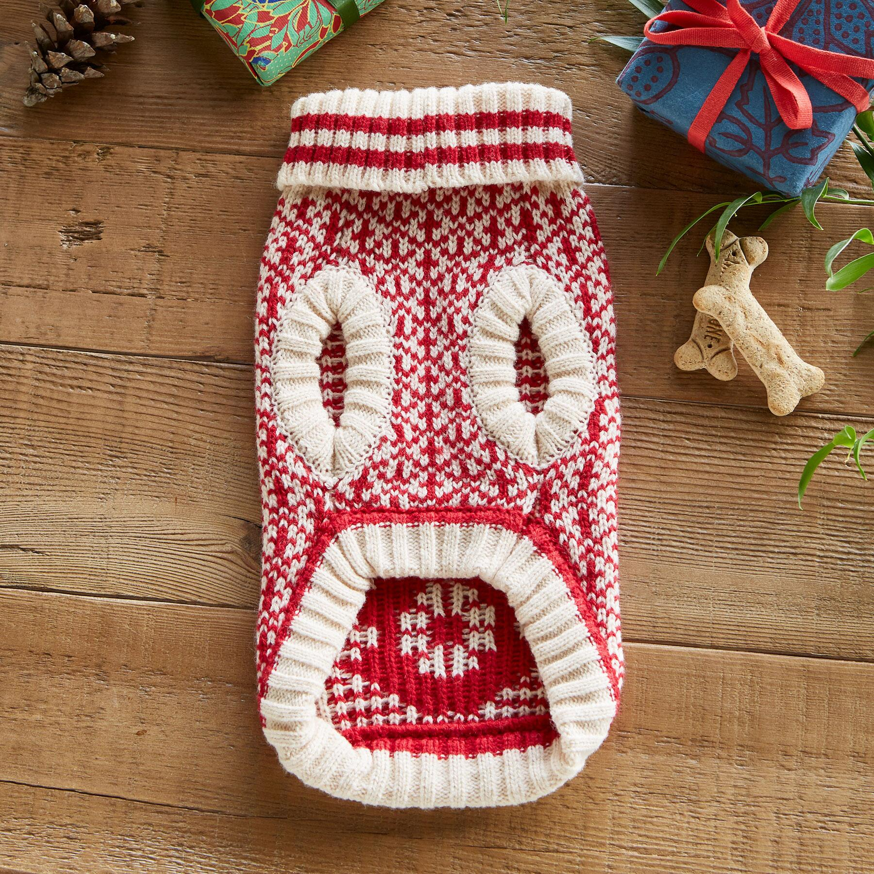 CABIN COZY DOG SWEATER: View 2