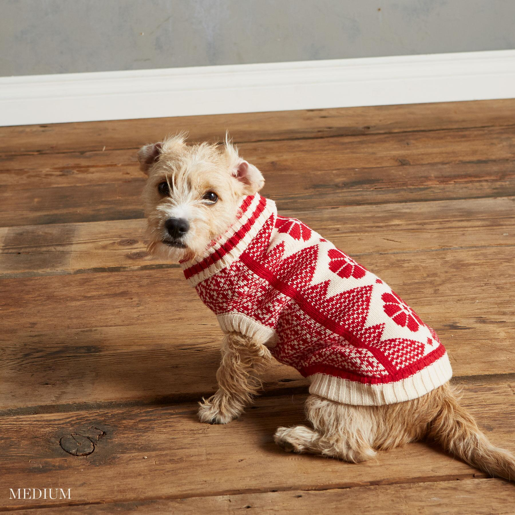 CABIN COZY DOG SWEATER: View 3