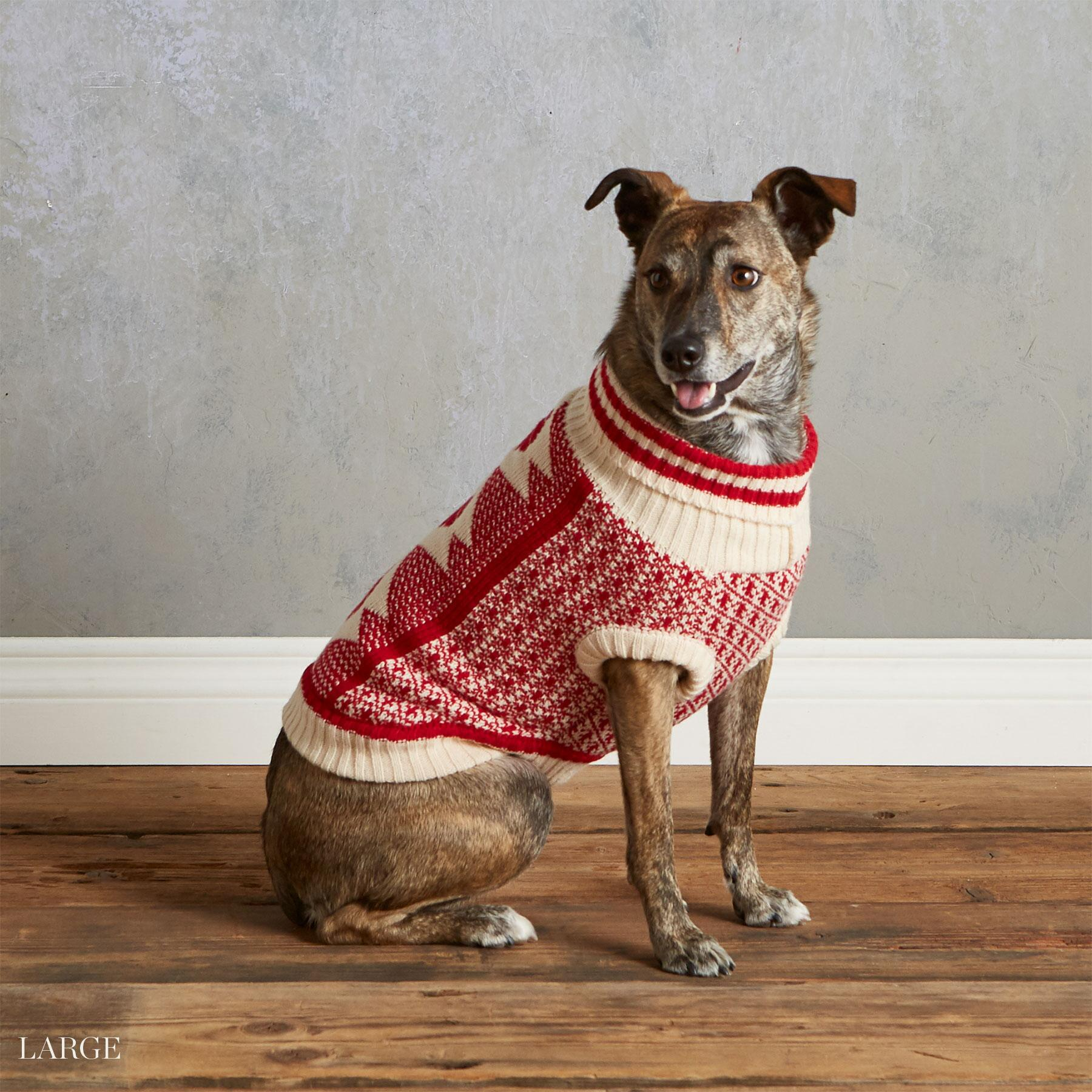 CABIN COZY DOG SWEATER: View 4