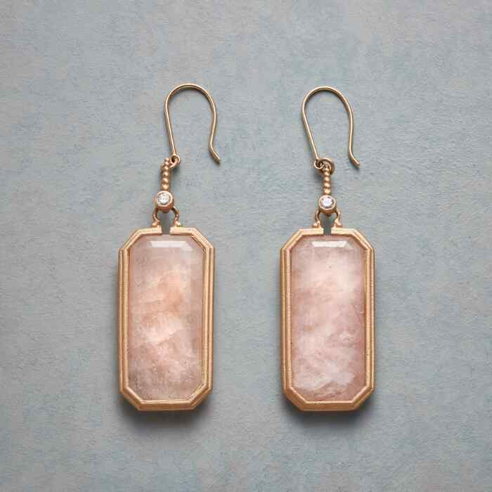 MORGANITE DECO EARRINGS