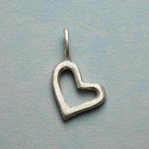 LOVING SENTIMENT HEART CHARM