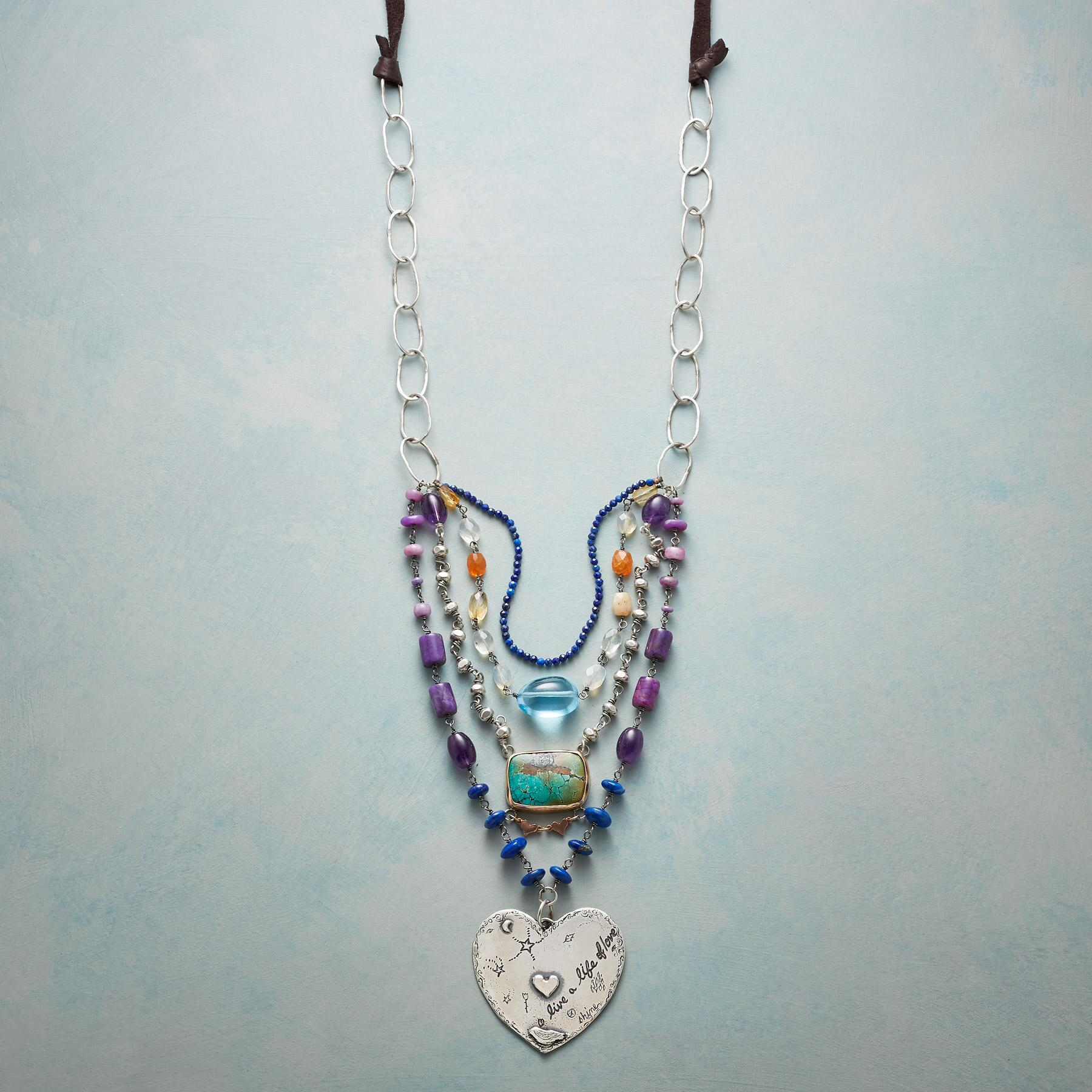 HEAL YOUR HEART NECKLACE: View 1