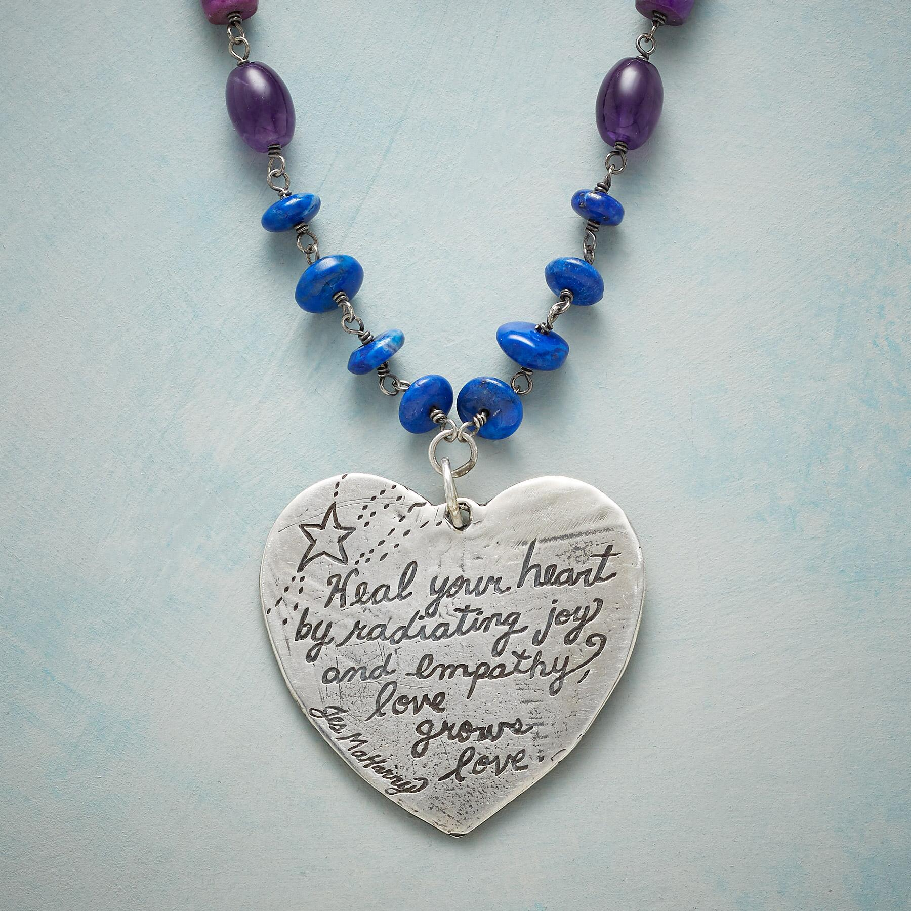 HEAL YOUR HEART NECKLACE: View 3