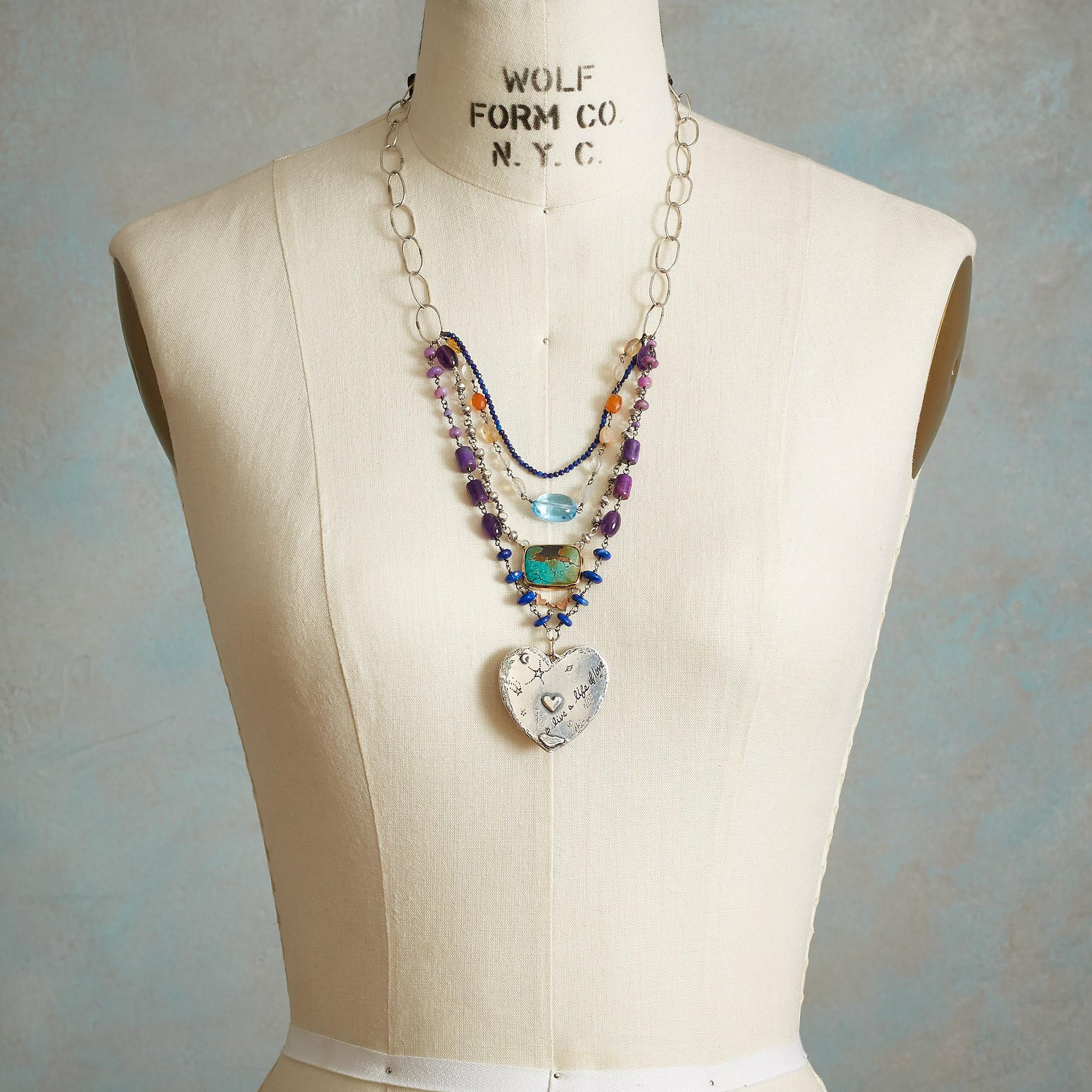 HEAL YOUR HEART NECKLACE: View 4