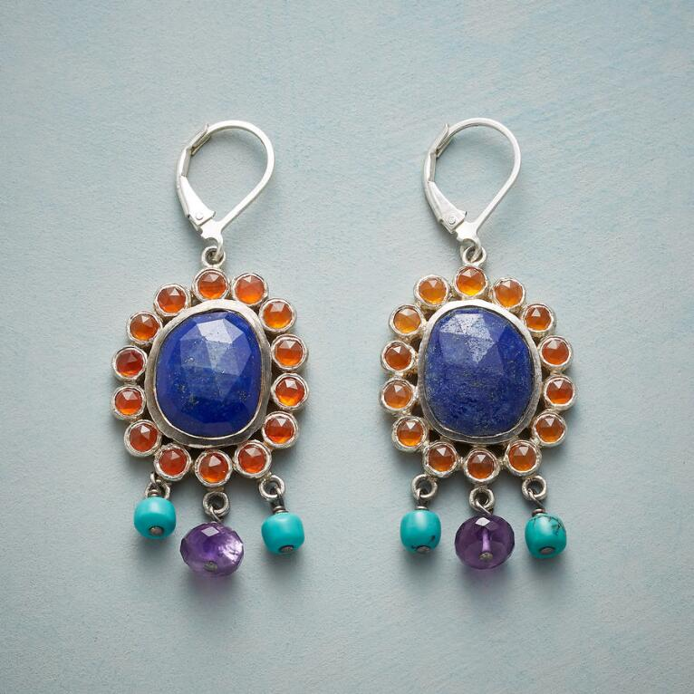 CORNFLOWER AFTERNOONS EARRINGS
