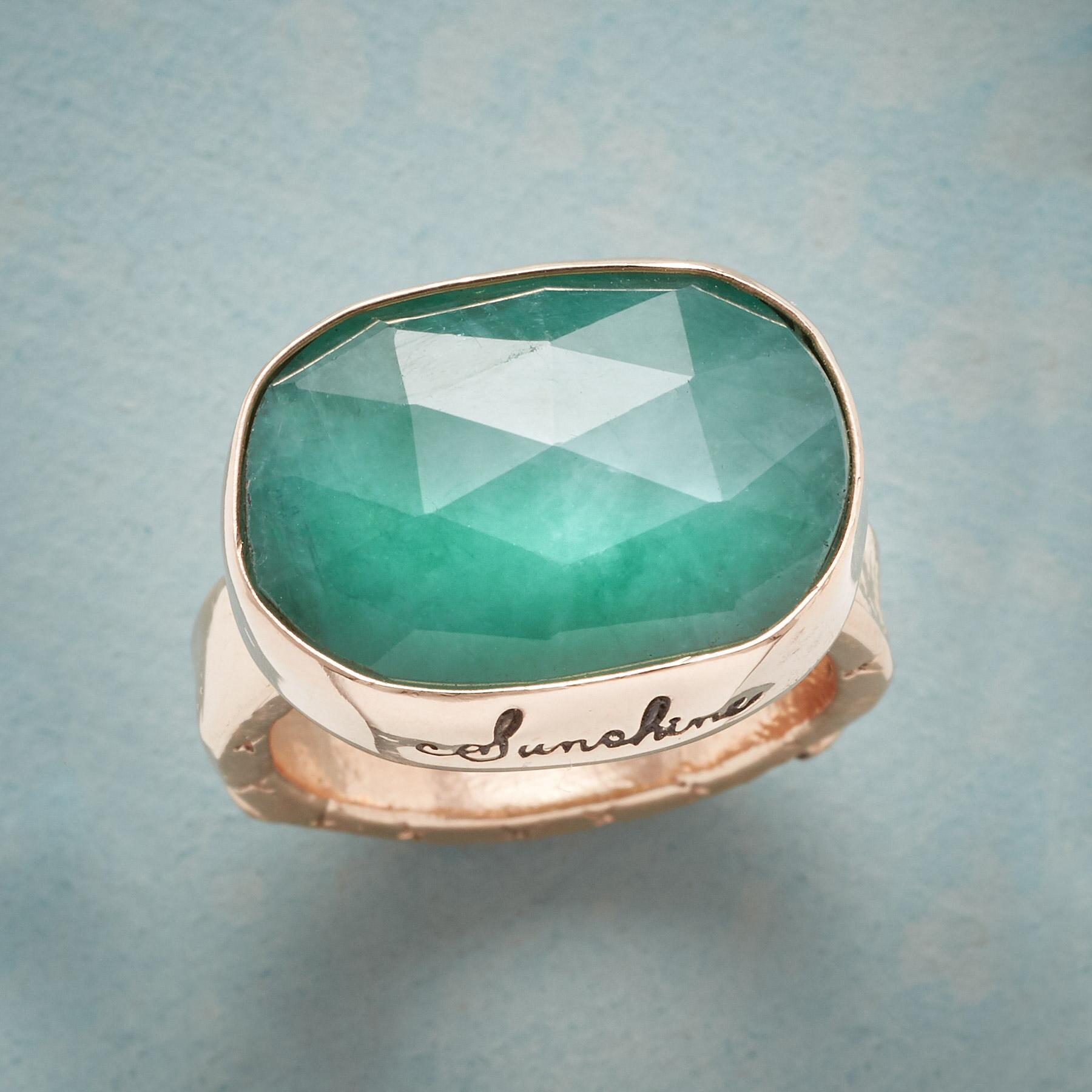 VIRIDIAN FOREVER RING: View 1