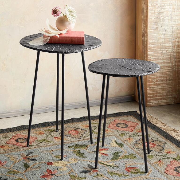 RONAN SIDE TABLES, SET OF 2