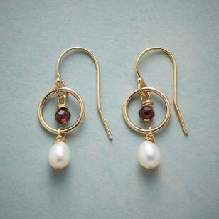 LASSOED PEARL EARRINGS