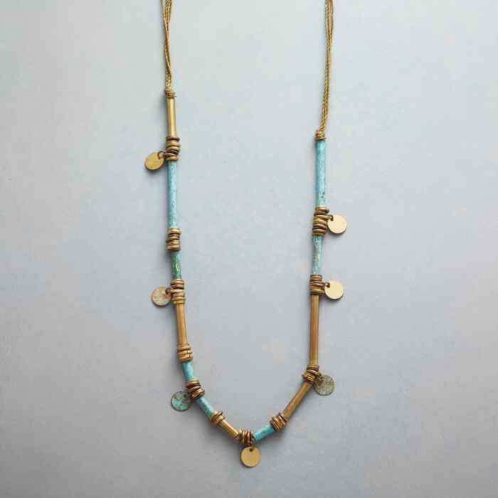 VERDIGRIS NECKLACE