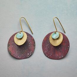 PLANETS AND MOONS EARRINGS