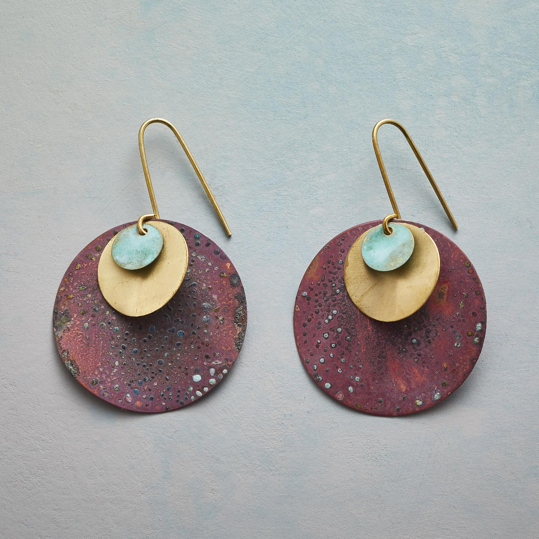 PLANETS AND MOONS EARRINGS: View 1