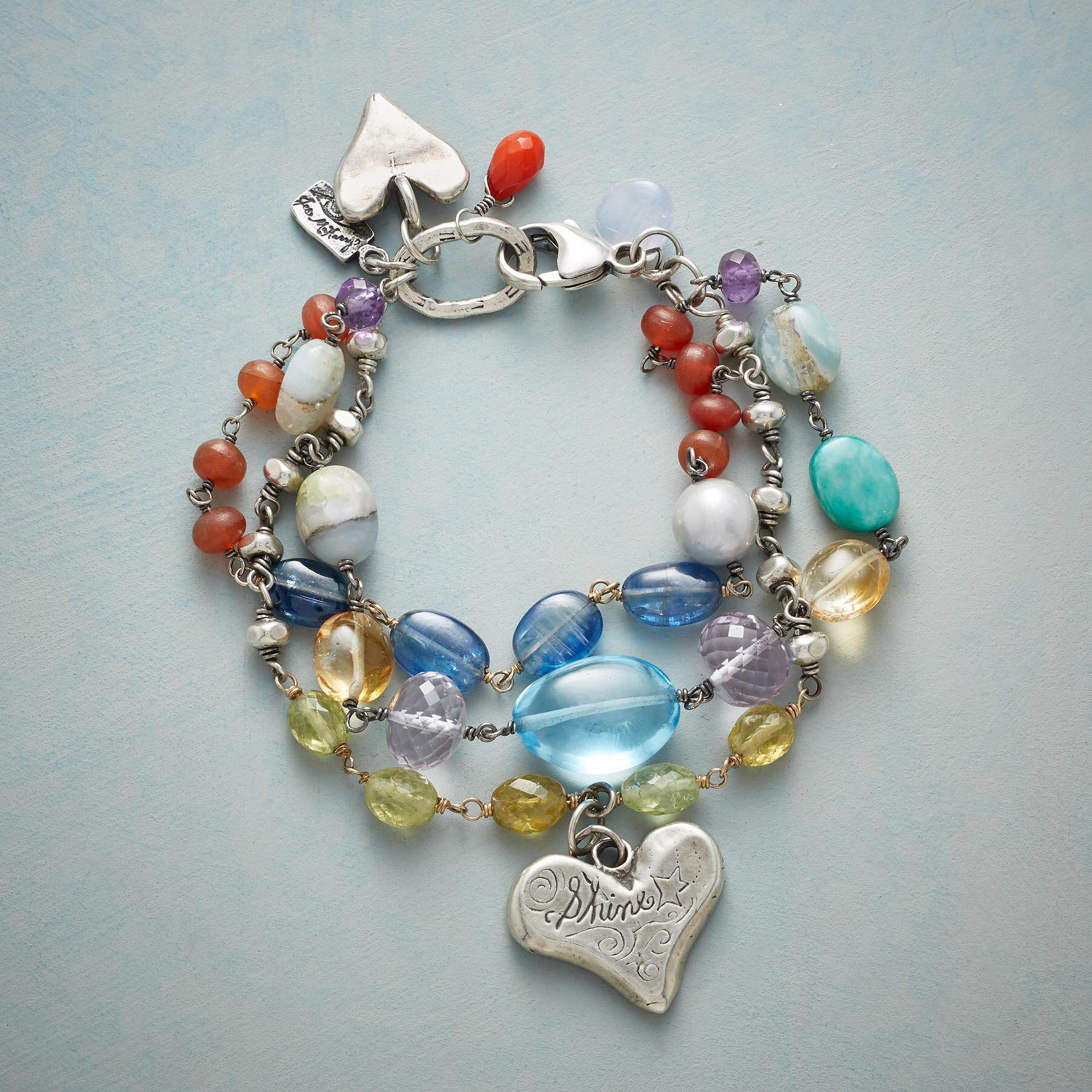 HEARTS & STONES BRACELET: View 1