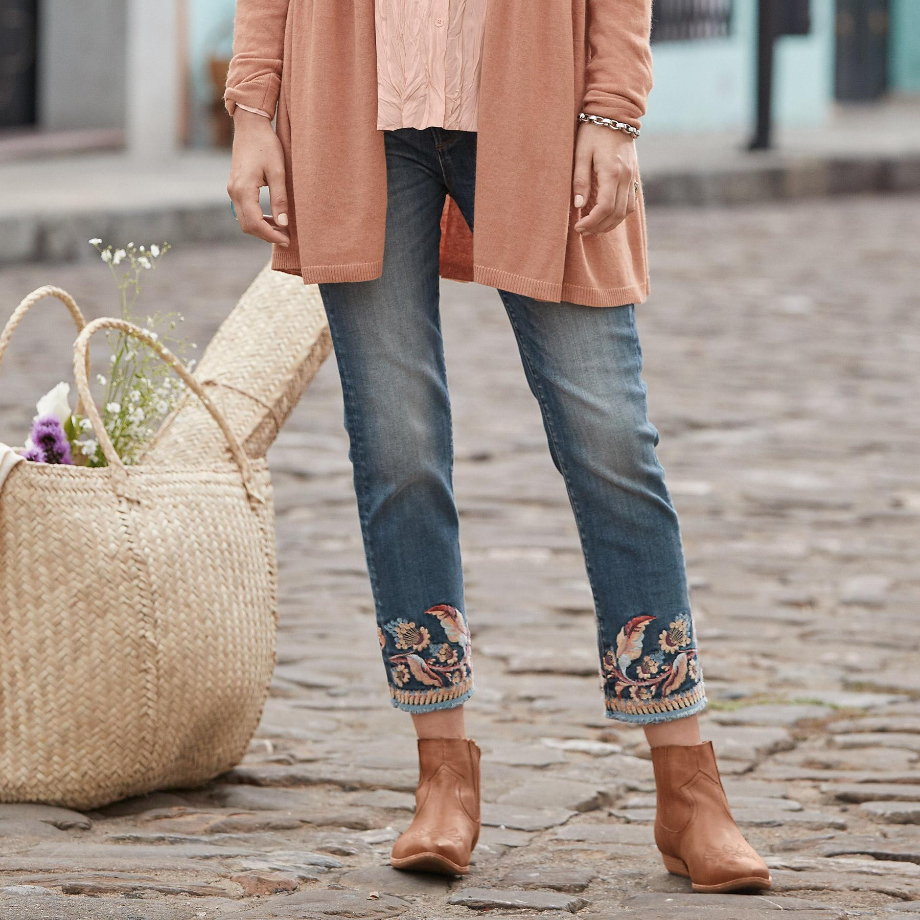 COLETTE SPIRIT OF THE WIND JEANS: View 1