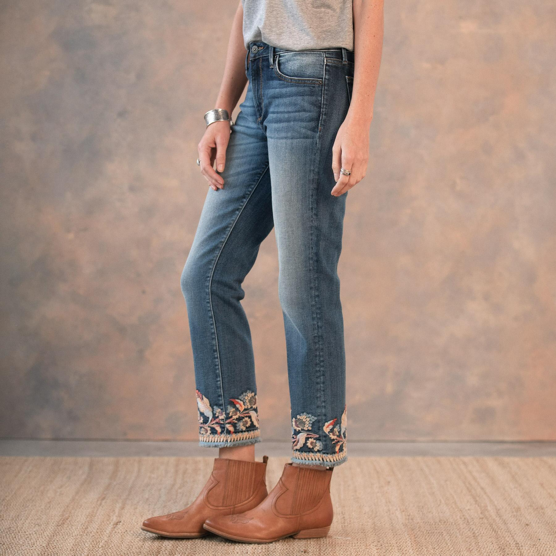 COLETTE SPIRIT OF THE WIND JEANS: View 3