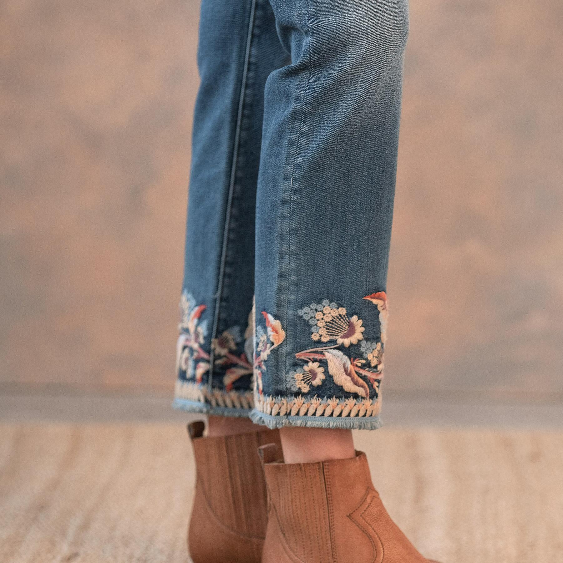 COLETTE SPIRIT OF THE WIND JEANS: View 6