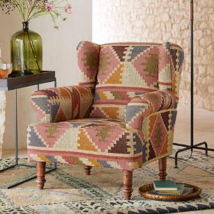 CEDAR RIDGE KILIM CHAIR