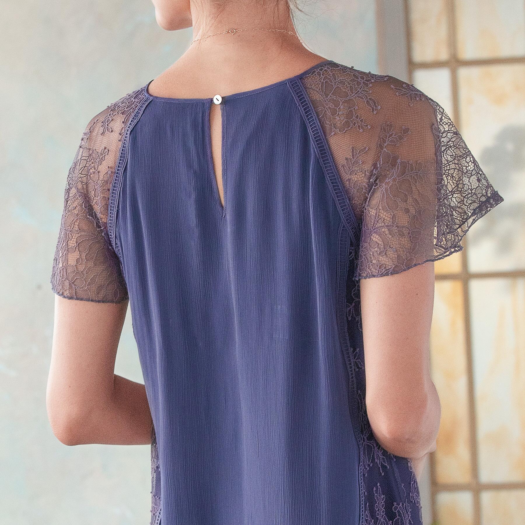 ALEXANDRITE DRESS - PETITES: View 4