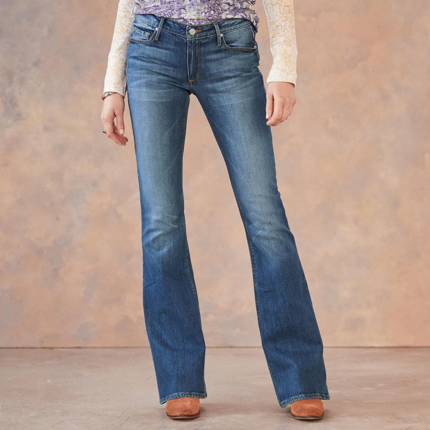 MIA FLARE JEANS: View 1