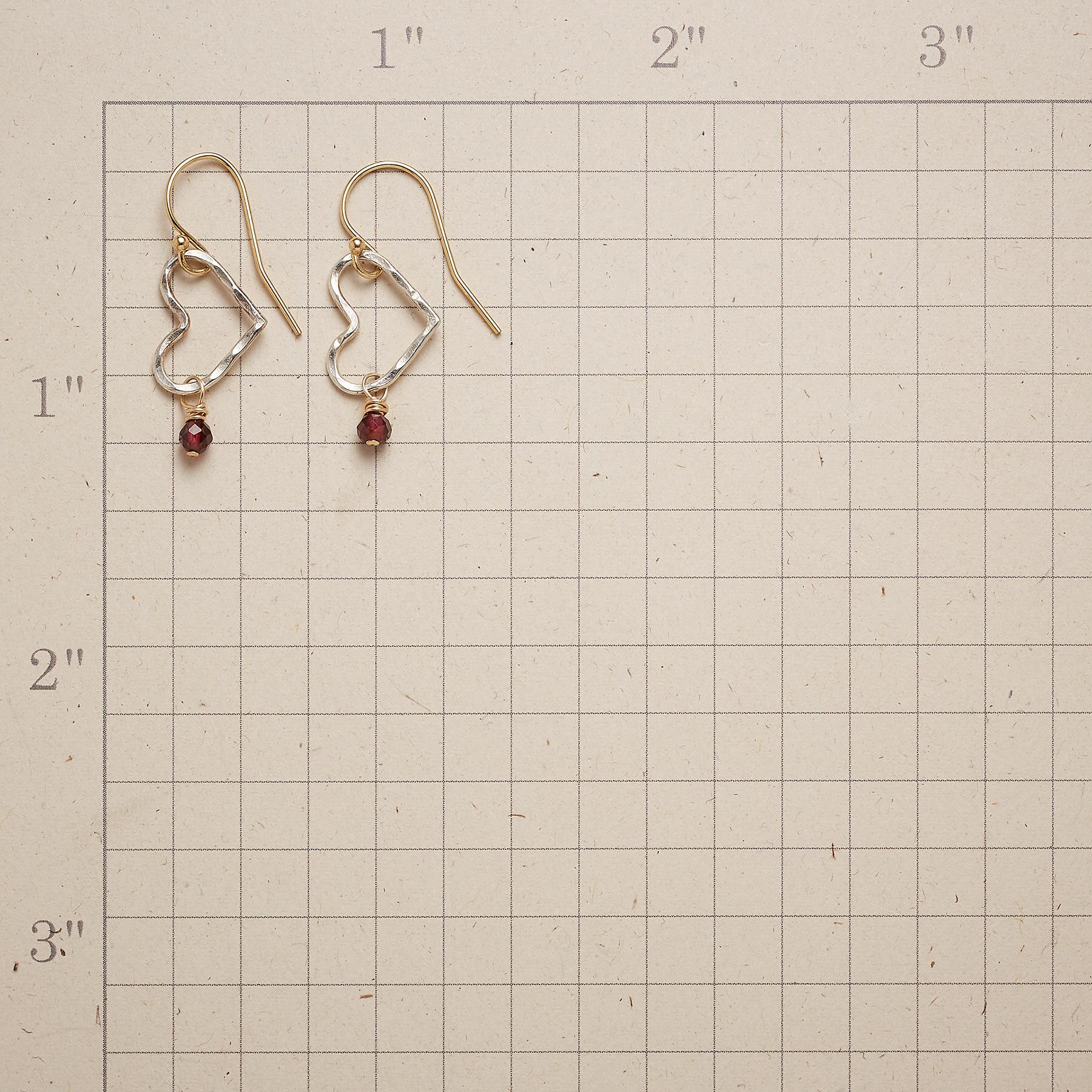 WITH LOVE EARRINGS: View 2