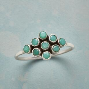 CHRYSOPRASE FORMATION RING