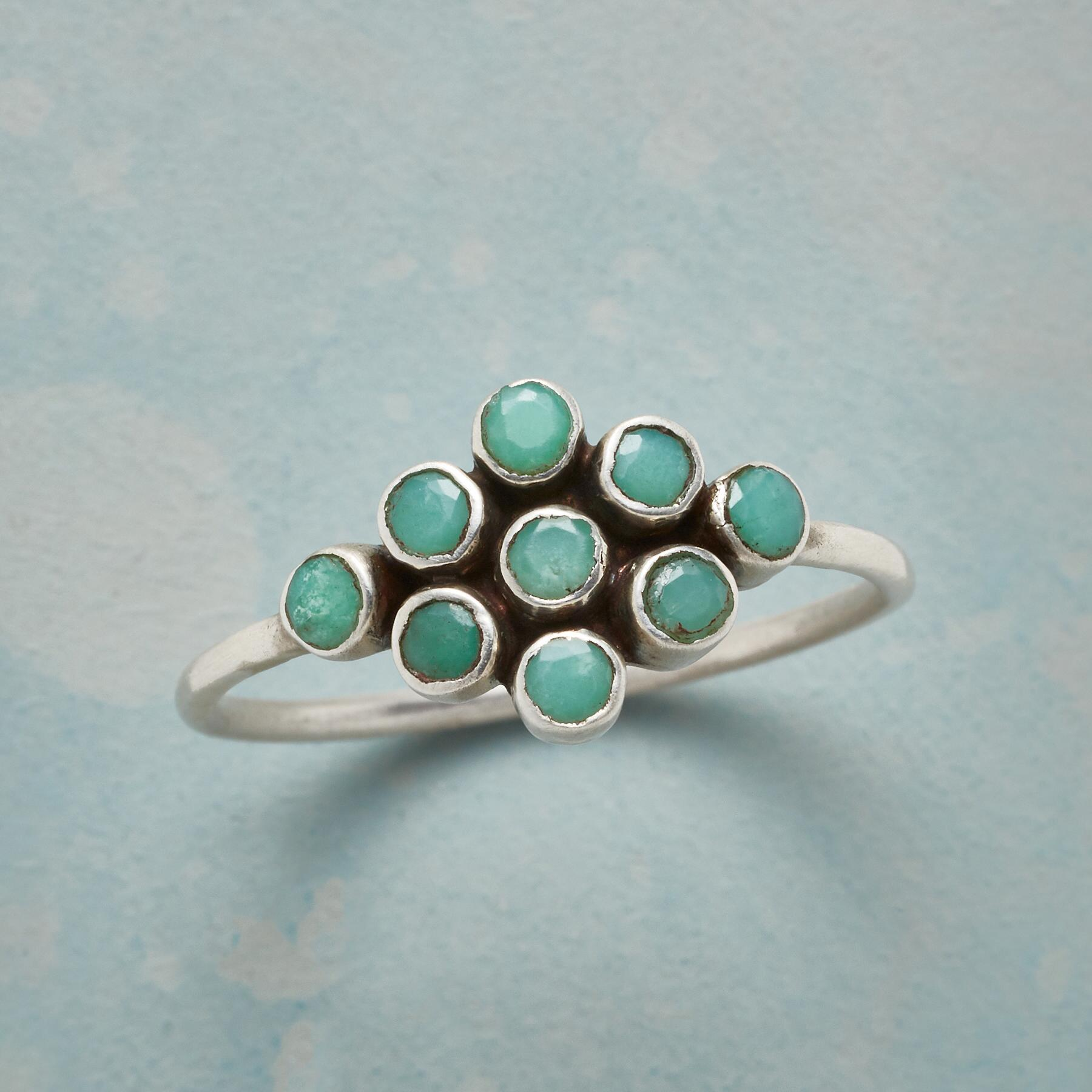 CHRYSOPRASE FORMATION RING: View 1