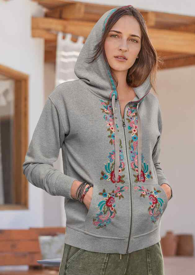 FAY EMBROIDERED HOODIE