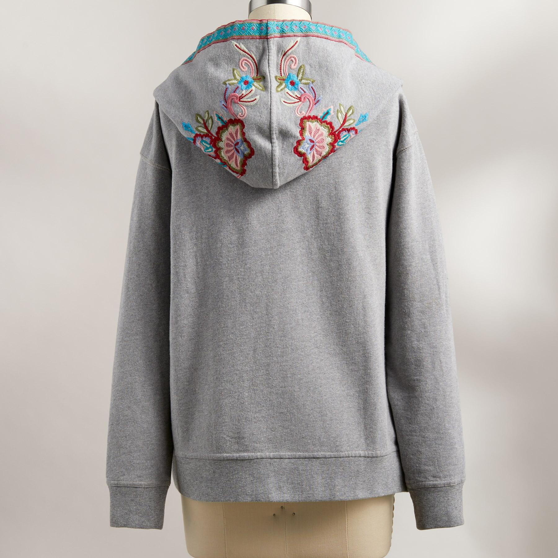 FAY EMBROIDERED HOODIE: View 3