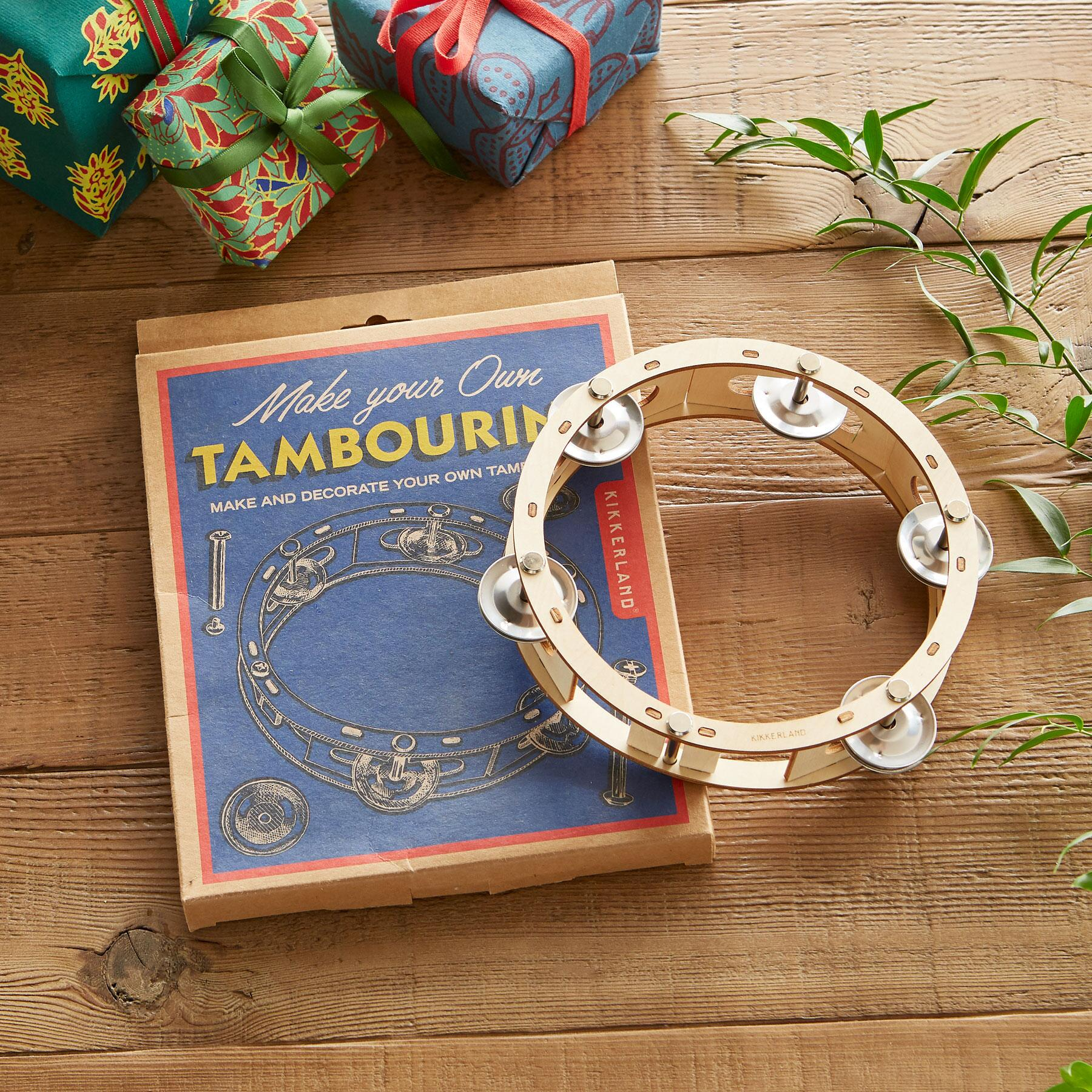 MAKE YOUR OWN TAMBOURINE: View 1