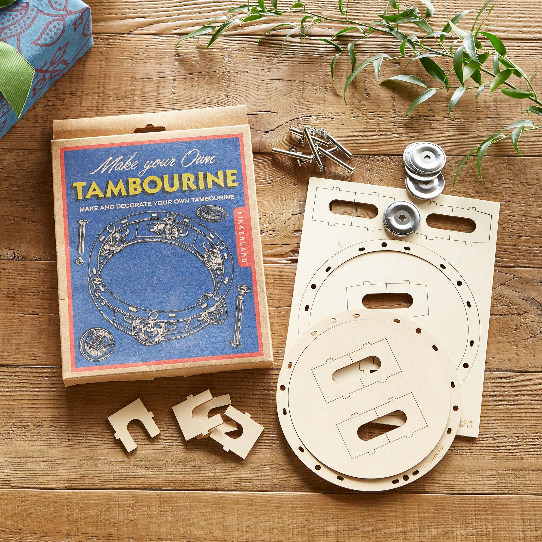 MAKE YOUR OWN TAMBOURINE: View 2