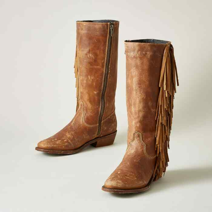 LILITH FRINGE BOOTS