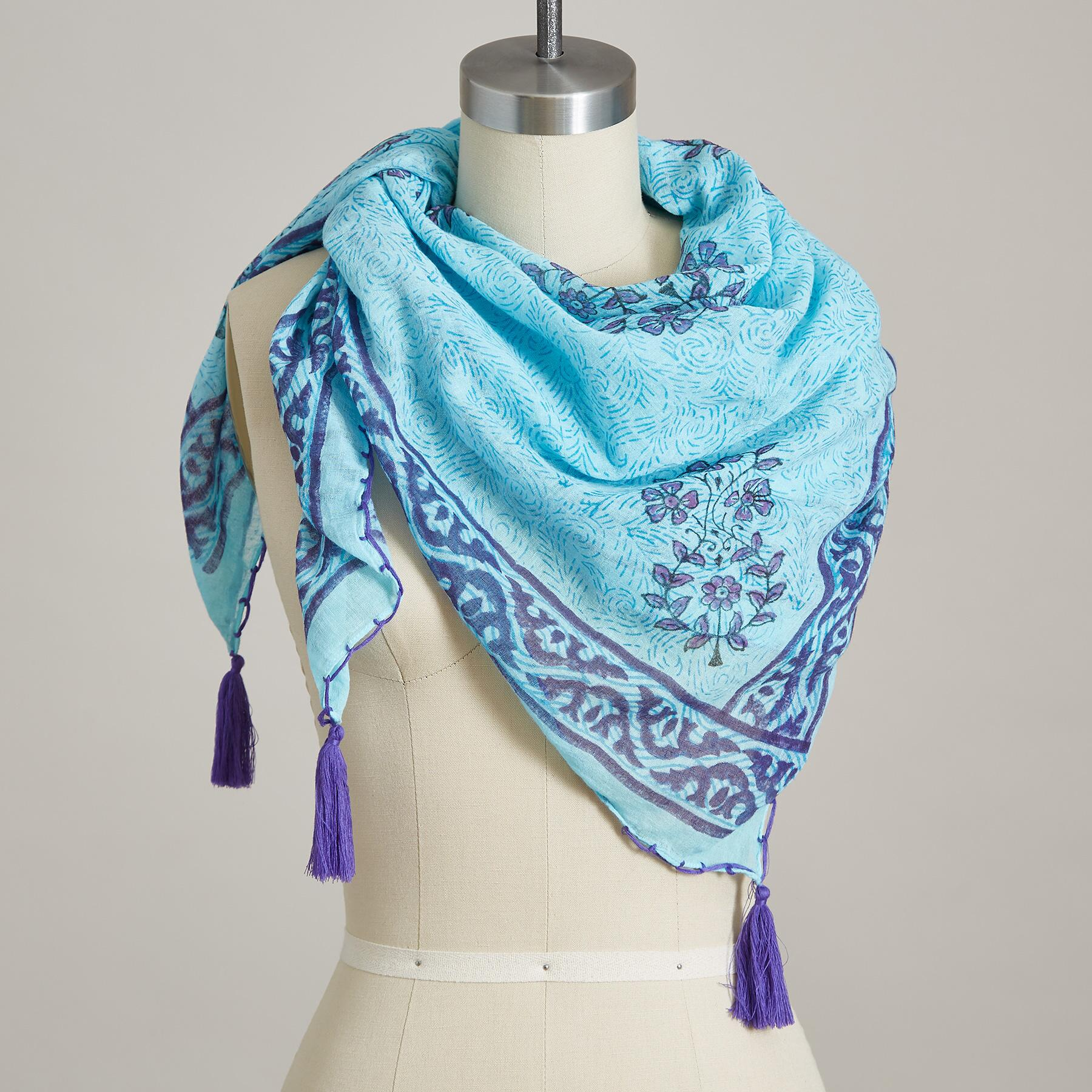 BLUEBIRD SCARF: View 1