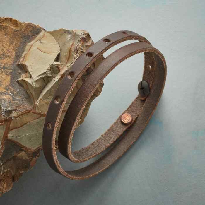 HOMESTEAD LEATHER BRACELET