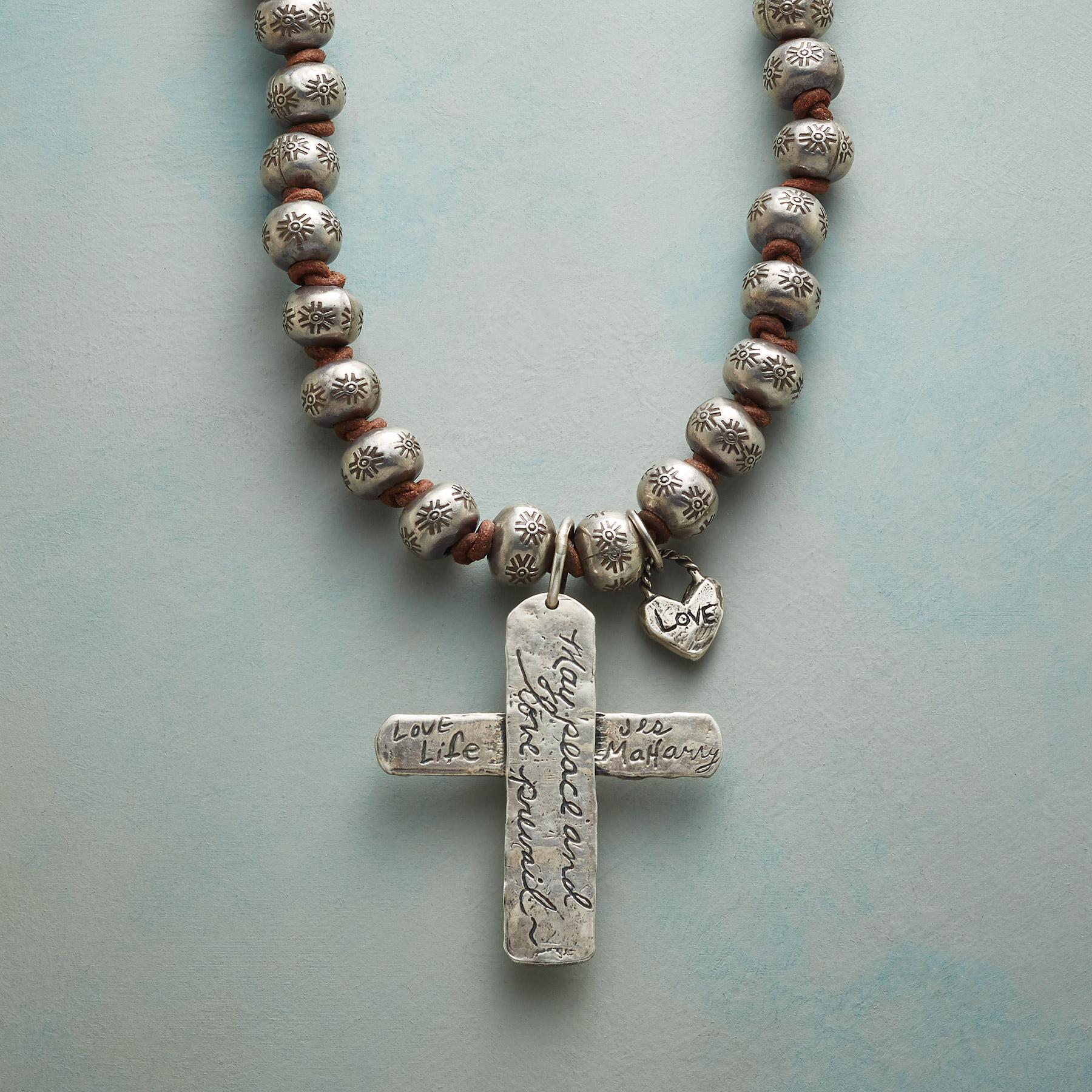 FAITH & LIFE NECKLACE: View 3