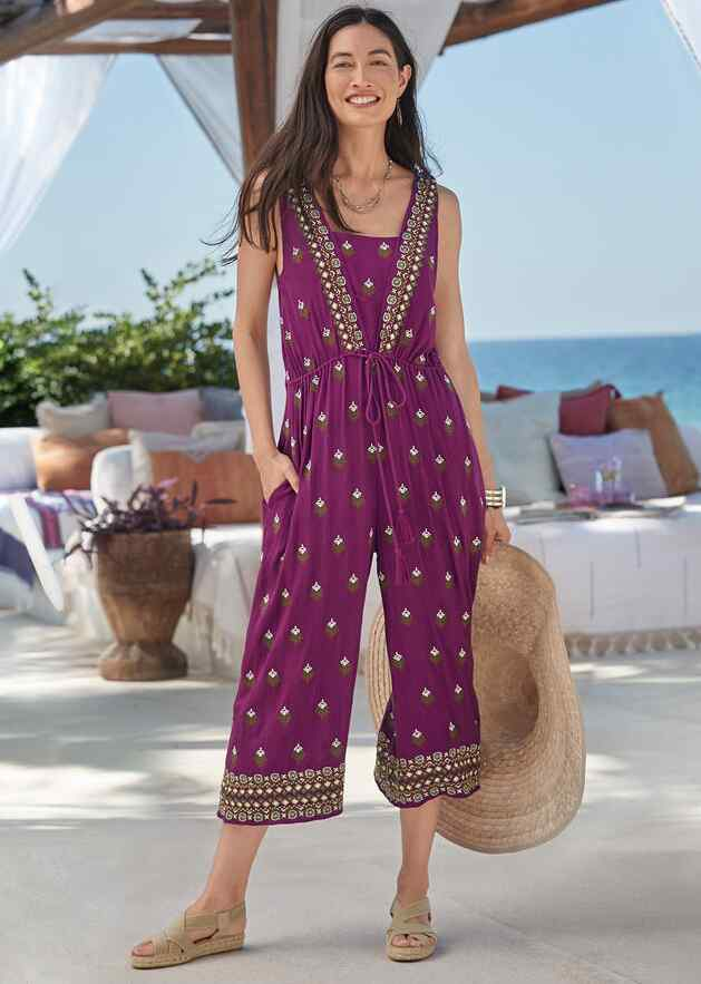 AMIRA EMBROIDERED JUMPSUIT