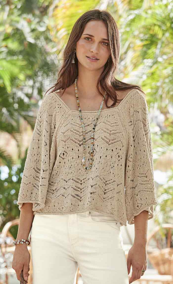 AFTERNOON SUNSHINE PULLOVER
