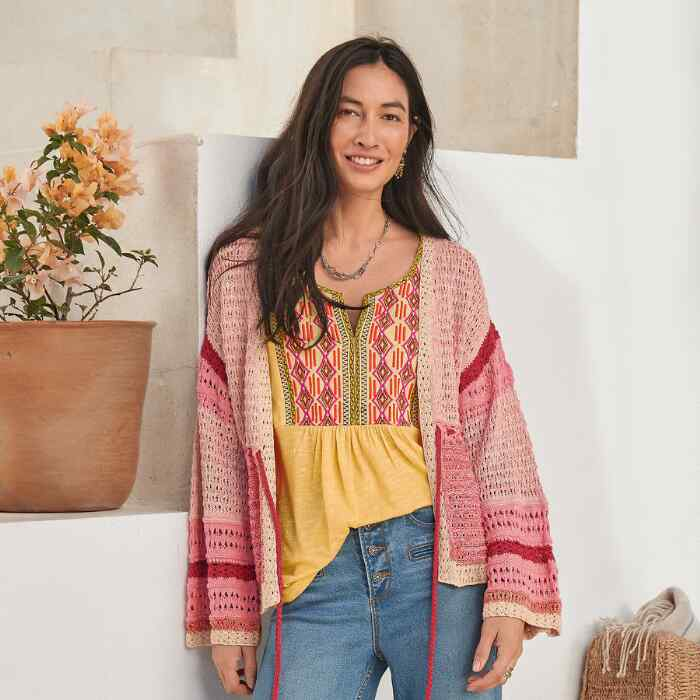 FREE IN SPIRIT CARDIGAN