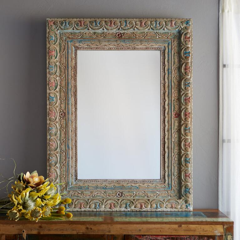 JAIPUR MANGO WOOD MIRROR