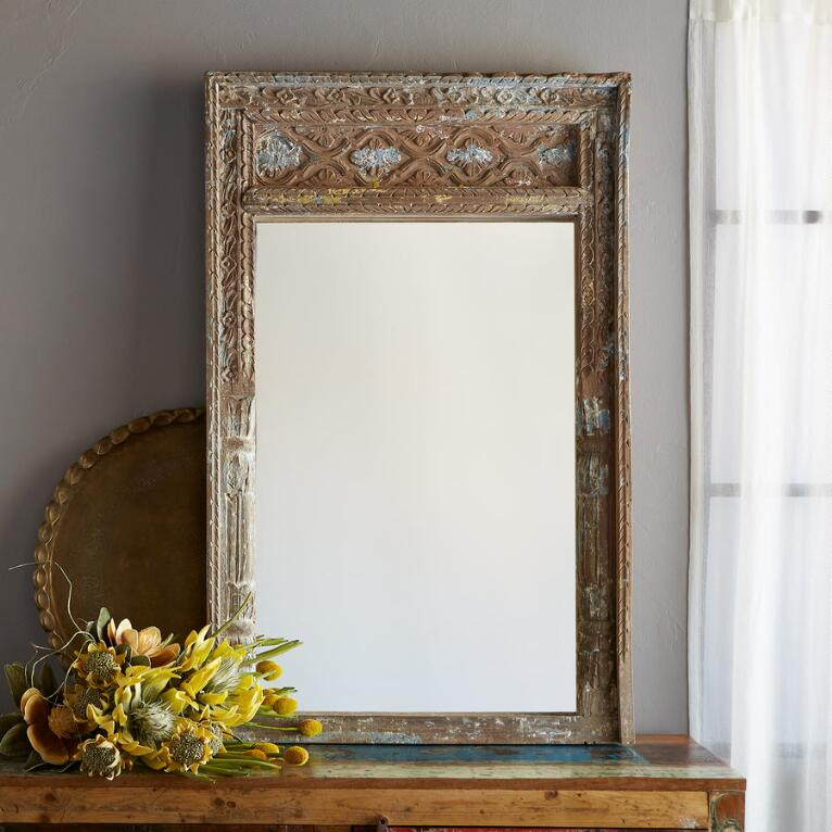 JAIPUR ACACIA WOOD MIRROR