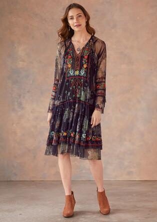 KARASI MESH DRESS