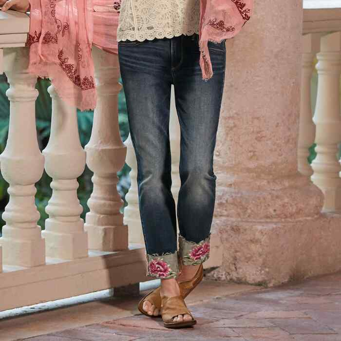 BLOOMING COLETTE JEANS